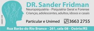 Dr. Sander Fridman