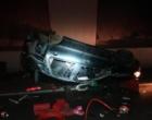 Veículo colide em vaca e criança é jogada para fora do carro na Freeway