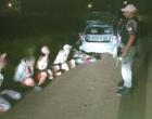 Quarteto é preso com armas em Osório
