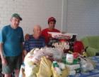 4° Luau do V8 realiza doações para o lar do idoso em Mostardas