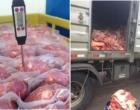 Quase uma tonelada de produtos de origem animal são apreendidos em Osório