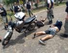 Criminosos são presos após assaltar posto de combustível