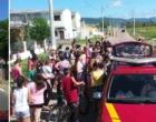 """""""Natal do fogo"""": bombeiros entregam presentes e cestas básicas em Osório"""