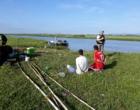 Foragidos são presos pescando em lagoa de Osório