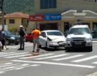 Colisão entre veículos deixa duas mulheres feridas no centro de Osório