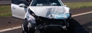 Motorista alcoolizado causa acidente com cinco veículos na freeway