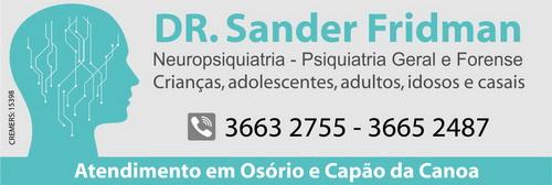 Dr. Sander Fridman - 16/11