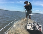 Pescadores são notificados por pesca ilegal em Palmares do Sul