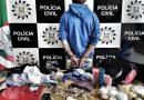 Homem é preso após arrombar loja em Mostardas