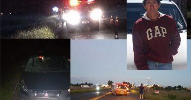 Sepultamento de idoso morto em acidente ocorre nesta tarde em Osório