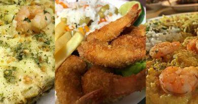 Festival gastronômico: Camarão ATS Fest inicia na praia de Atlântida Sul