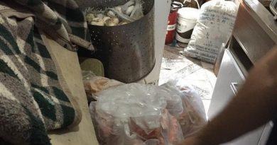 Operação apreende mais de uma tonelada de alimentos impróprios para o consumo em Palmares do Sul