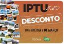 IPTU 2020: Prefeitura divulga calendário de pagamento em Osório
