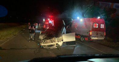 Capotamento deixa um morto na RS-030 em Osório