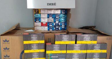 Homem é preso pela BM em Imbé após roubo a carga de cigarros