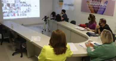 Secretária Arita Bergmann fez o anúncio em webconferência com prefeitos e gestores hospitalares da região