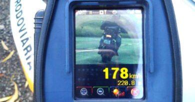 Motociclista é flagrado a 178 Km/h na Rota do Sol