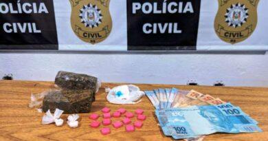 Sistema de tele-entrega no Litoral: jovens são flagrados vendendo drogas em posto de combustível