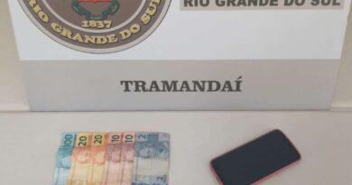 Casal é preso por tráfico de drogas na RS-030