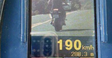 Motociclista é flagrado a 190km/h em Santo Antônio da Patrulha