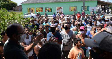 Prefeito de Osório discute soluções com moradores da localidade da Vila Verde
