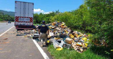 PRF impede saque de carga na Freeway em Osório