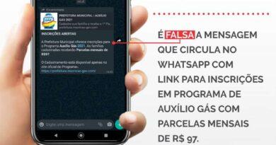 Fake news Vale gás Whatsapp - arte Talis Ramon