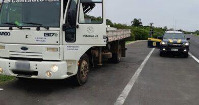Caminhão furtado é recuperado em Osório