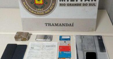 Após perseguição, jovem que clonava cartões é preso em Tramandaí