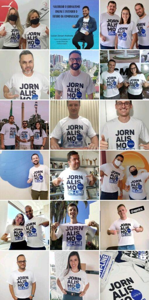 Portais de notícias do RS criam campanha de incentivo ao jornalismo online