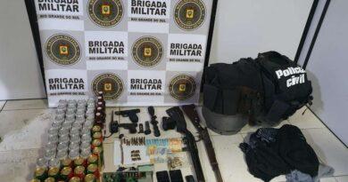 Assaltantes são presos após confronto com a BM em Capão da Canoa