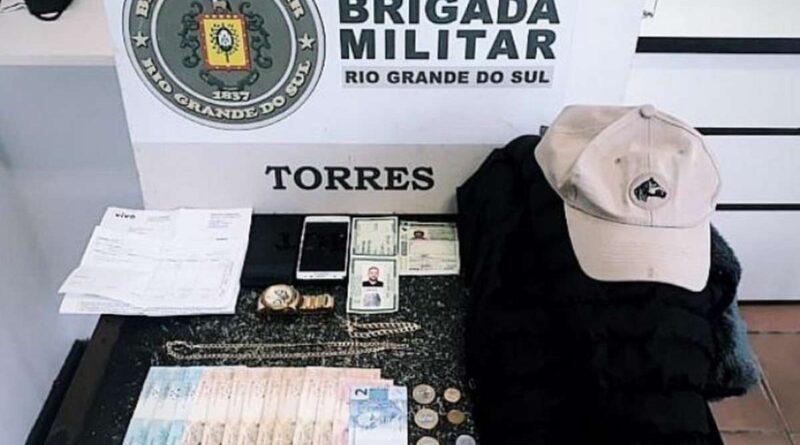 Estelionatário é preso após tentar aplicar golpe em Torres