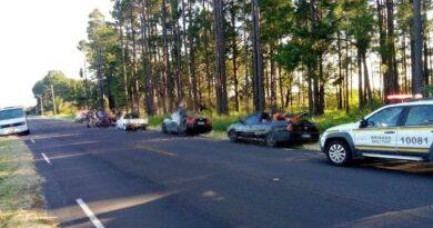 BM flagra motoristas realizando manobras perigosas em Osório